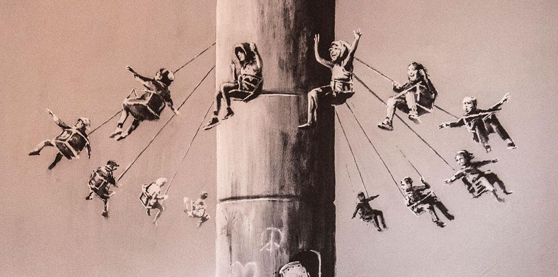 Banksy Banner Image