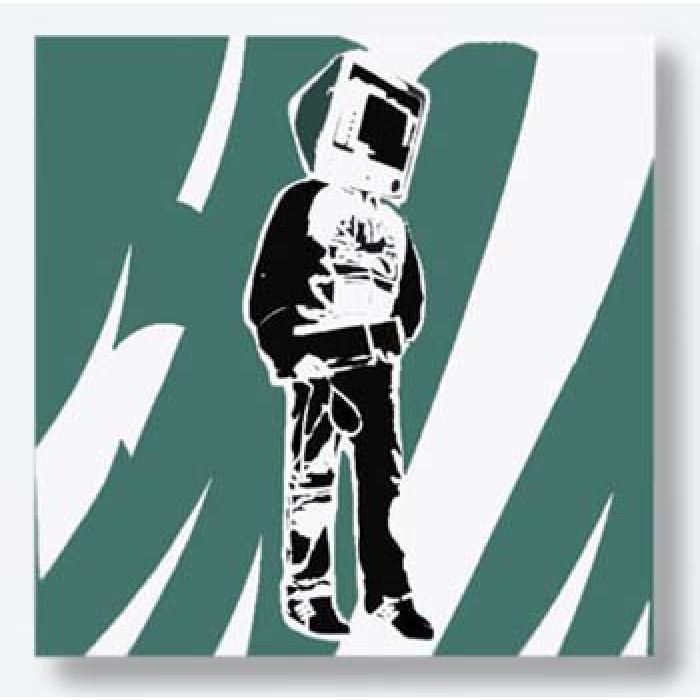 Computer Man (Green)