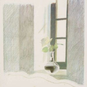 DavidHockney-RoseInWindow-BrandlerGalleries