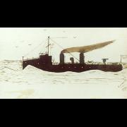 Battleship Steaming