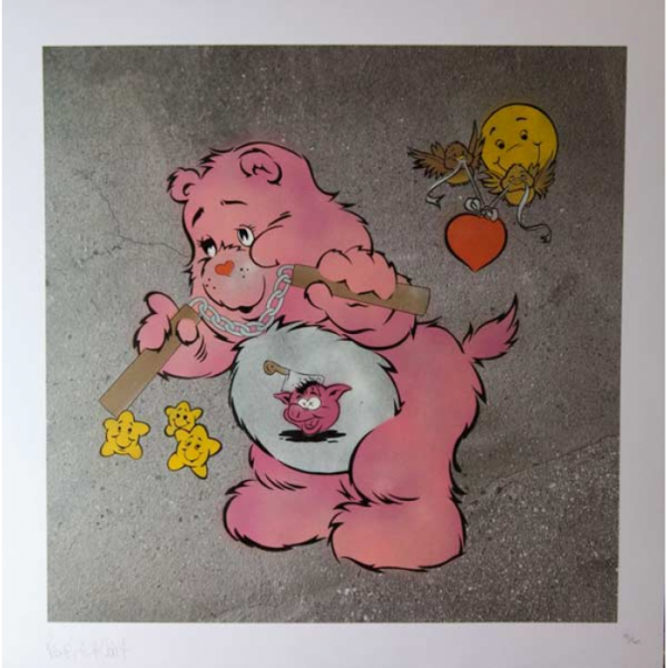 Scare Bear (Pink)