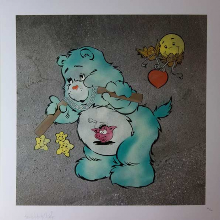 Scare Bear (Light Blue)