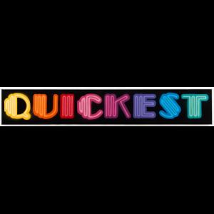 Quickest (Neon Font)