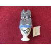 Egg Cup with knitted cover x-10 signed