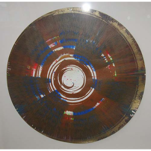 Brown Spin Painting