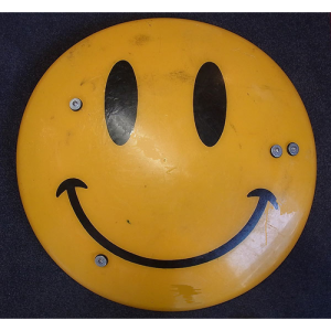 Smiley Riot Shield #2