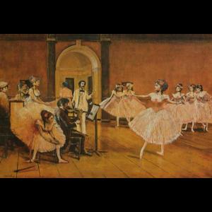 Degas Dancing Class