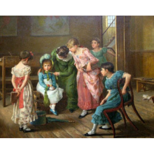 The First School Lesson