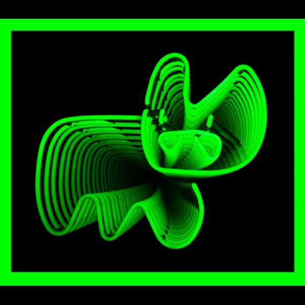 Infinity Neon Bunny