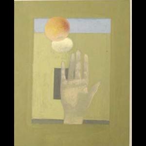 Hand, Egg, Orange