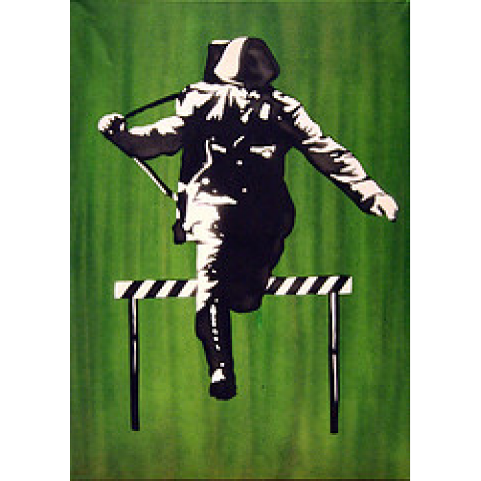 Jumping Soldier