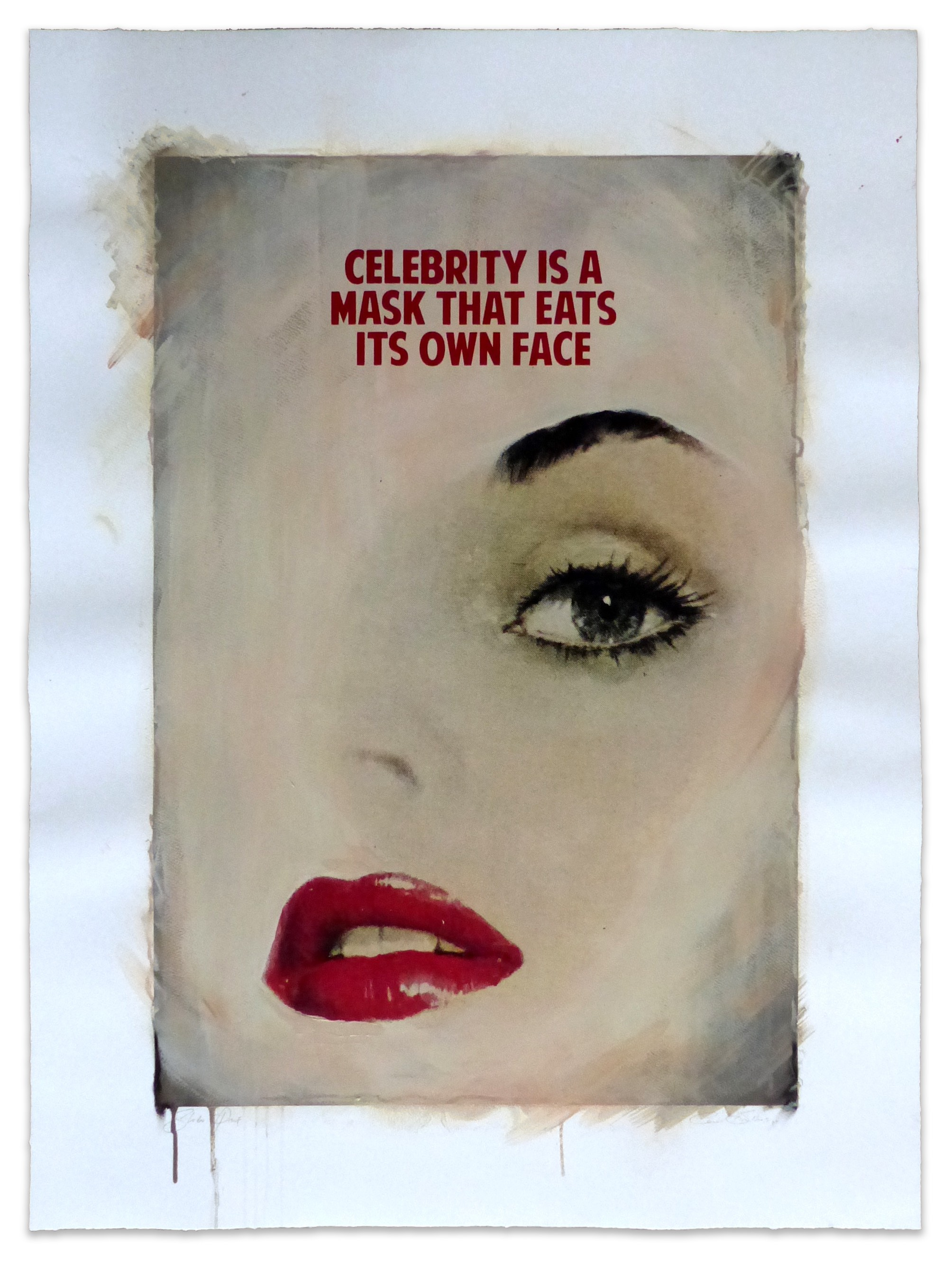 CELEBRITY IS A MASK