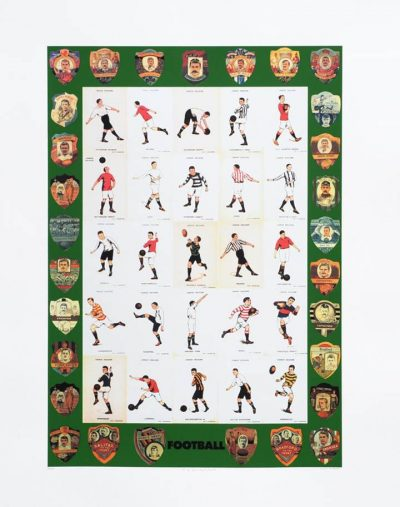 Peter Blake Alphabet F Football