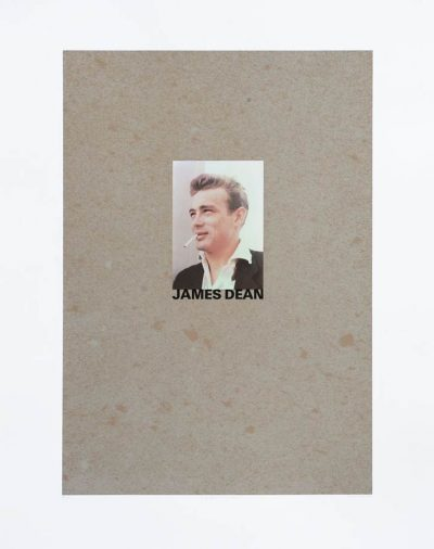 Peter Blake Alphabet J James Dean