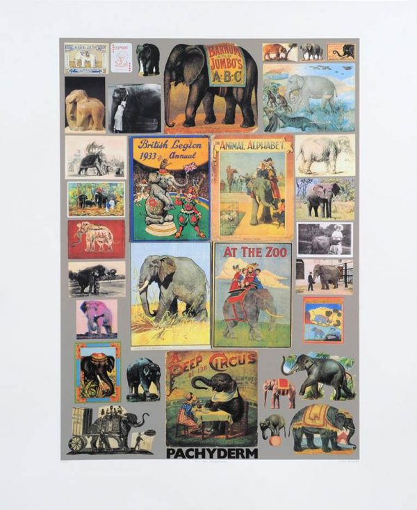 P is for Pachyderm (Elephant)