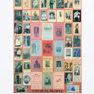 Peter Blake Alphabet U unusual Peoople