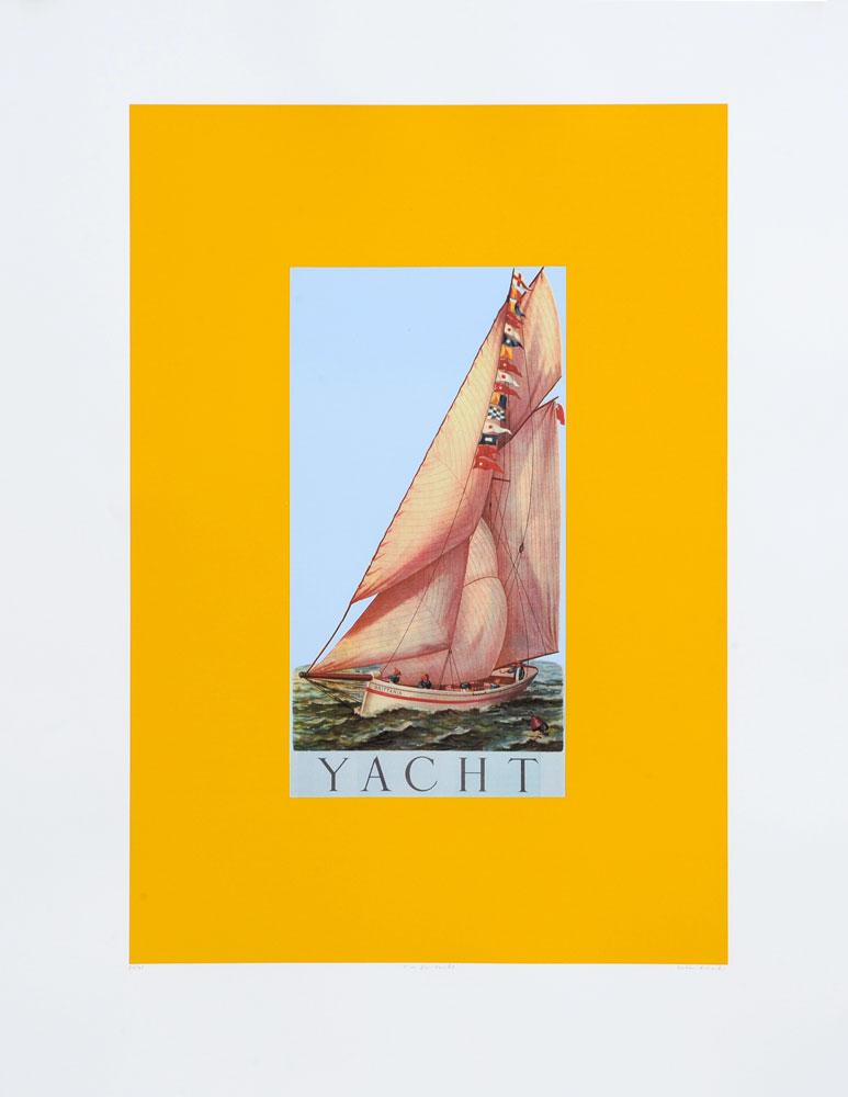 Peter Blake Alphabet Y Yacht