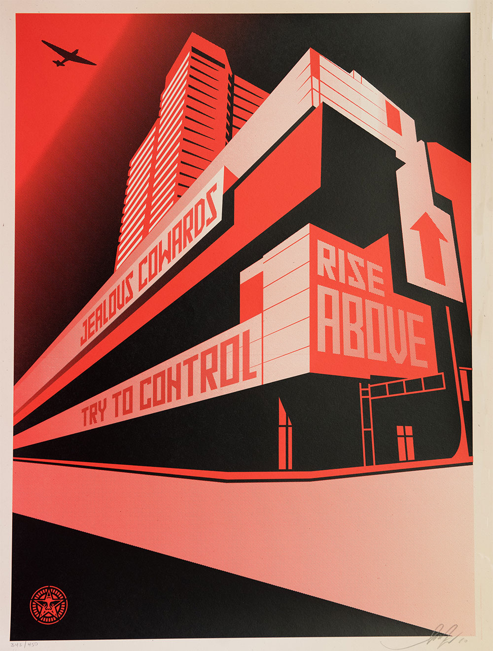 Rise Above (Red)