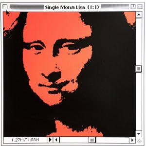 Mona Lisa (Red)