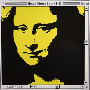 Single Mona Lisa (Yellow)
