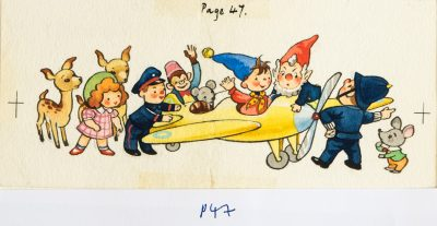 Noddy & Big Ears Land The Plane, Page 47