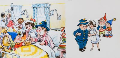 Untitled, Mr. Plod In Hospital
