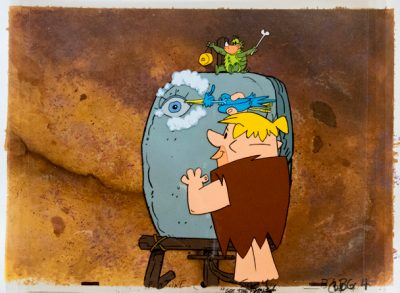 Barney Rubble Engraving (Original film illustration)
