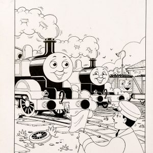 Lazy Wheels #110 (1992) - Thomas the Tank Engine [053/160]