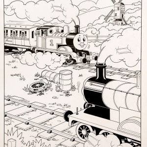 Untitled #9 (1988) - Thomas the Tank Engine [056/160]