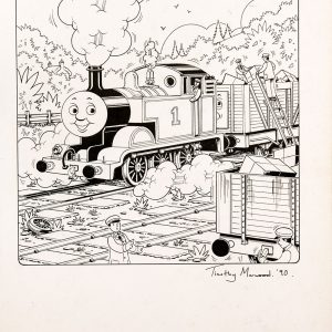 Untitled #70 (1990) - Thomas the Tank Engine [057/160]