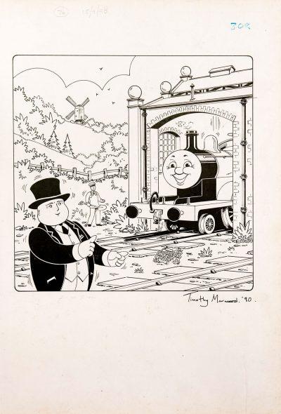 Untitled #76 (1990) - Thomas the Tank Engine [058/160]