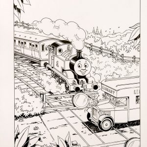 The Library Train #127 (1992) - Thomas the Tank Engine [059/160]