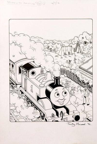 Thomas & The Playground (1992) - Thomas the Tank Engine [060/160]