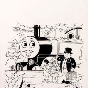 Untitled #40 (1992) - Thomas the Tank Engine [064/160]
