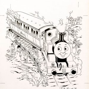Fold-out Tom (1987) - Thomas the Tank Engine [068/160]