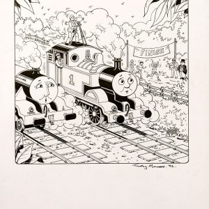 Untitled #122 (1992) - Thomas the Tank Engine [071/160]