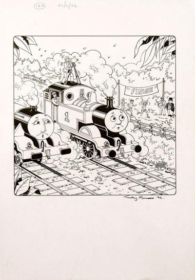 Untitled #122 (1992) - Thomas the Tank Engine [071/160]