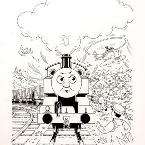 Harold in a Hurry (1993) - Thomas the Tank Engine [079/160]
