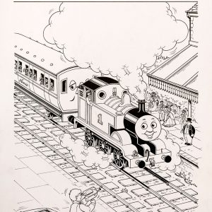 Untitled #131 (1993) - Thomas the Tank Engine [081/160]