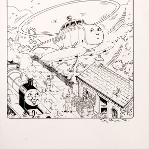 Colouring Page #121 (1992) - Thomas the Tank Engine [082/160]