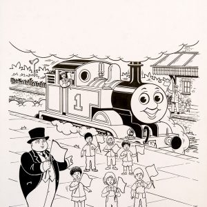 Untitled (1993) - Thomas the Tank Engine [083/160]