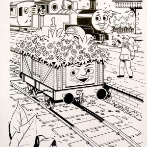 Untitled, Issue #203 (1995) - Thomas the Tank Engine [086/160]