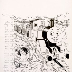 Opposites, Issue #65 (1992) - Thomas the Tank Engine [089/160]