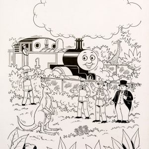 Thomas & Hoppy, Issue #160 (1994) - Thomas the Tank Engine [090/160]