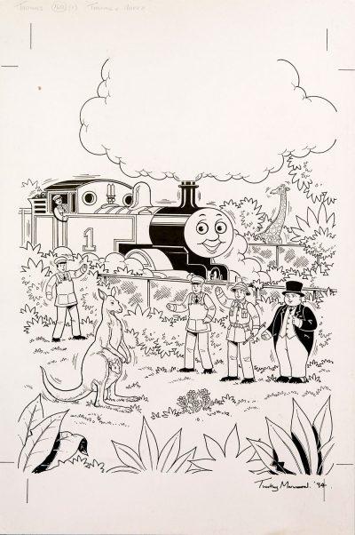 Thomas & Hoppy, Issue #160 (1994) - Thomas the Tank Engine [090/160]