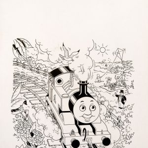 Thomas Special Cover (1993) - Thomas the Tank Engine [091/160]