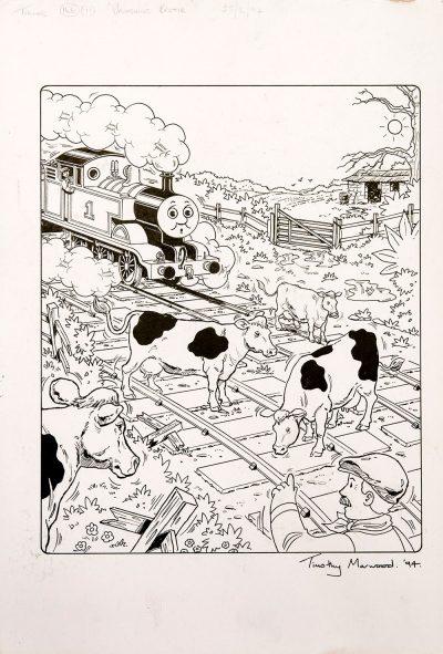 Vanishing Bertie, Issue #166 (1994) - Thomas the Tank Engine [096/160]-357