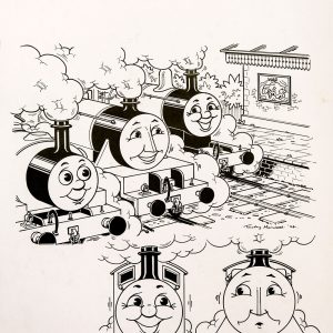 Decorated Diesel, Issue #163 (1994) - Thomas the Tank Engine [100/160]