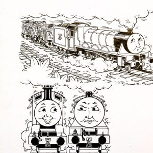 Trucks with Gordon, Edward & Henry (1996) - Thomas the Tank Engine [105/160]