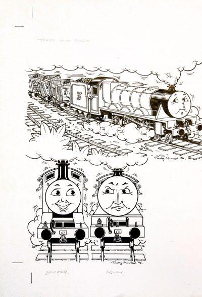 Trucks with Gordon, Edward & Henry (1996) - Thomas the Tank Engine [105/160]